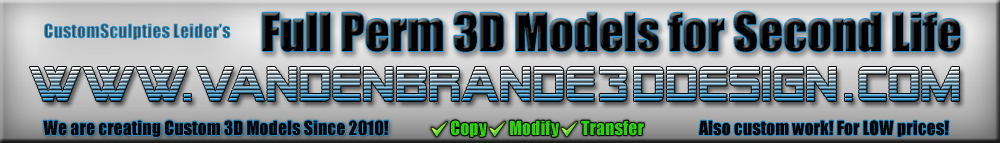 Vandenbrande3DDesign Custom Meshes & Environments